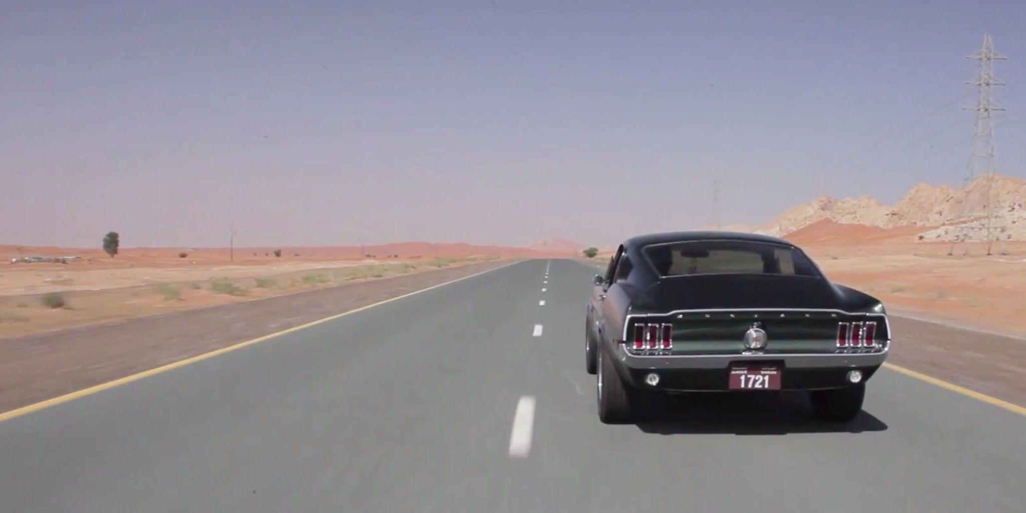 This Bullitt tribute '68 Mustang in Dubai is no mirage