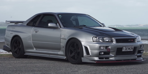 Ride with Matt Farah in a 1000-hp Nissan Skyline GT-R