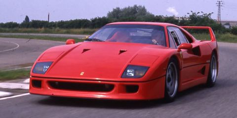 First Look Flashback 1987 Ferrari F40