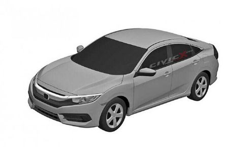 Here's what the production Honda Civic will look like
