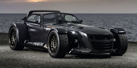 Donkervoort GTO Bare Naked Edition bares all (carbon)