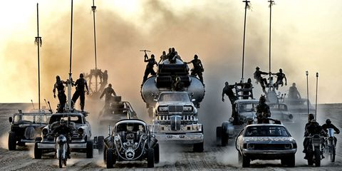 The cars of Mad Max: Fury Road