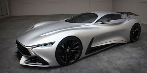 Infiniti's real-life Vision GT concept bows in China