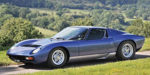 Buy Rod Stewart S Lamborghini Miura On Ebay