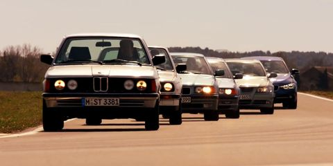 Bmw Celebrates 40 Years Of The Legendary 3 Series