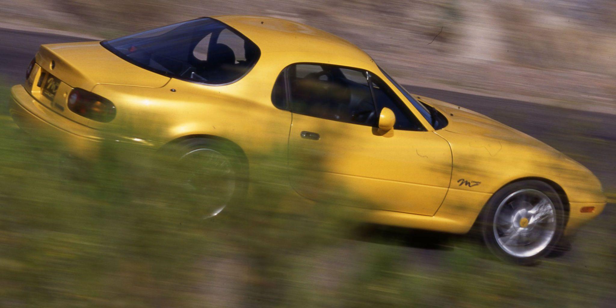 1996 Mazda Miata M Coupe - Flashback Drive Photos