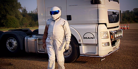 The coolest cousins in The Stig's family tree
