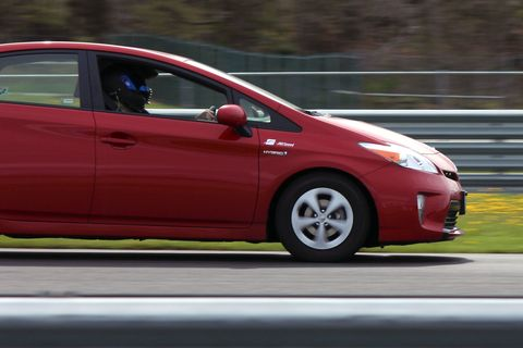 The Idiot's Guide to Driving a Prius on a Racetrack