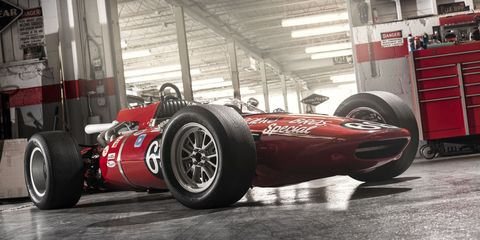 How to buy a vintage Indy car, and make it turn right