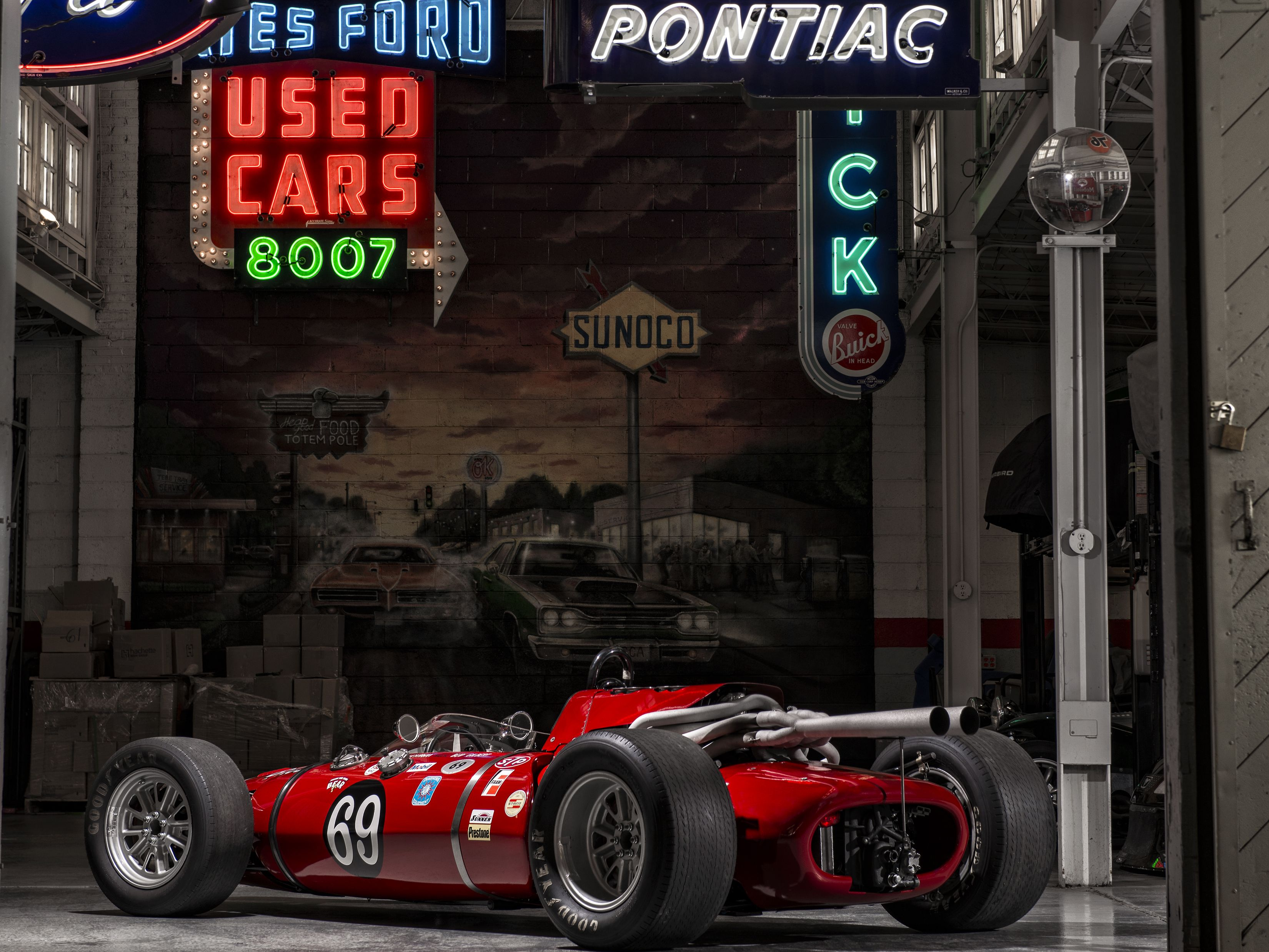 1964 Eisert Indy car - Vintage Race Car Photos