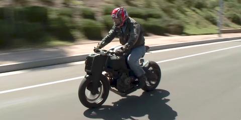 Jay Leno Ronin 47 motorcycle