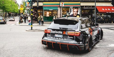 Jon Olsson Audi RS6 Avant for Uber