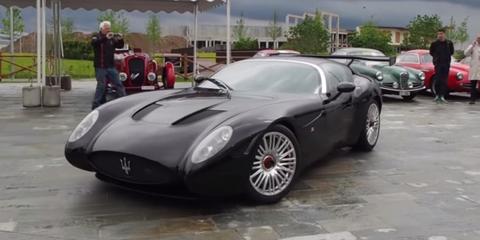 The Zagato-Maserati Mostro sounds totally monstrous