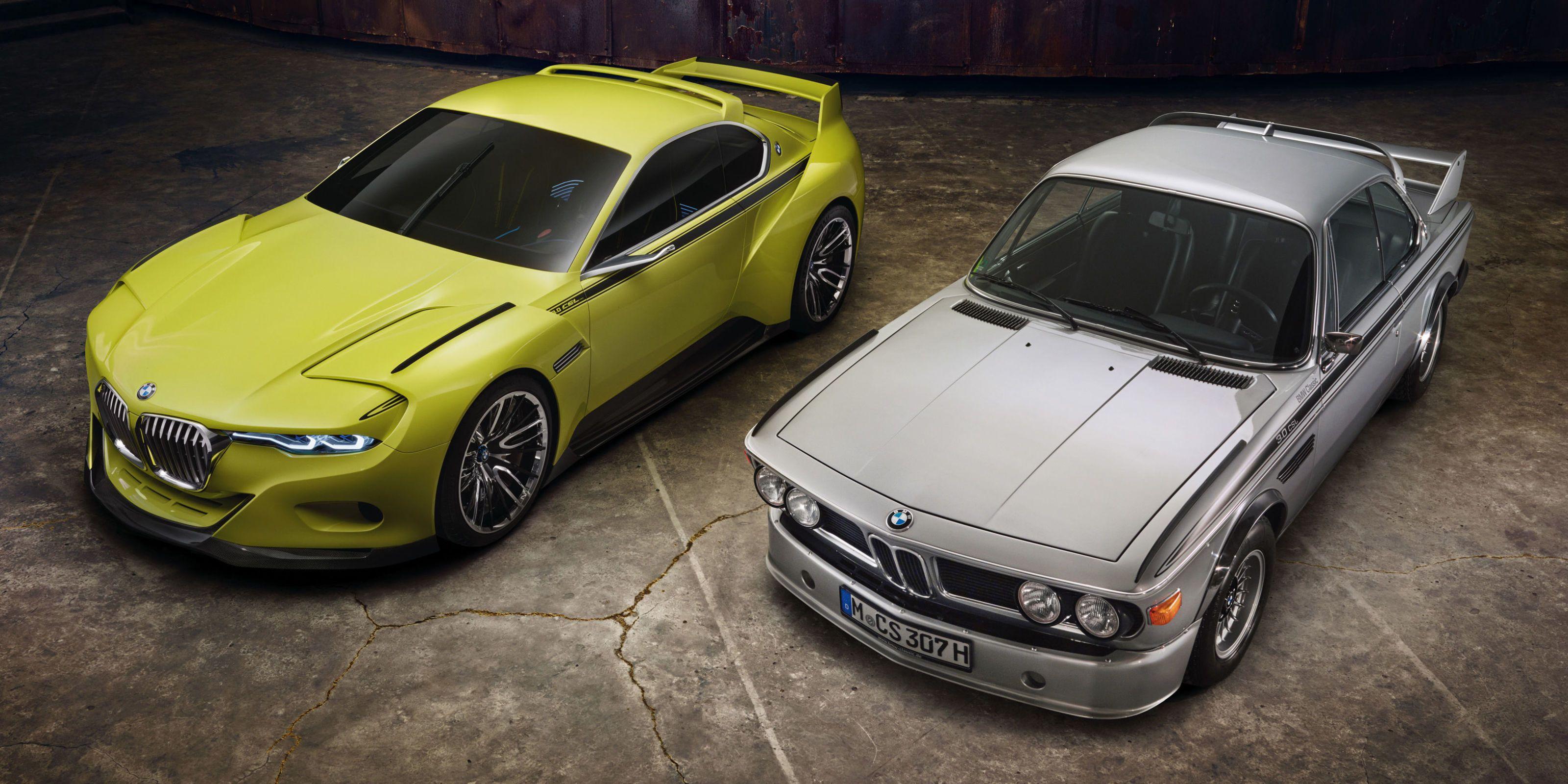 BMW 3.0 CSL Homage Concept unveiled at Villa d'Este