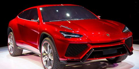 Ready Or Not The Lamborghini Suv Is Coming In 2018