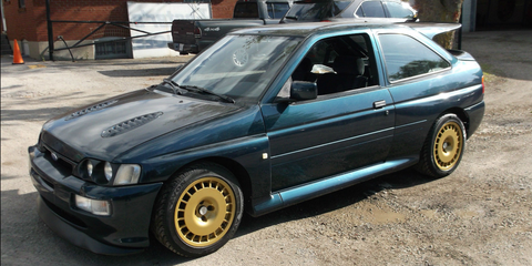 Buy this Escort Cosworth now, import it later