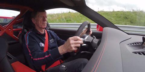 Walter Röhrl makes Porsche's wicked 911 GT3 RS look easy