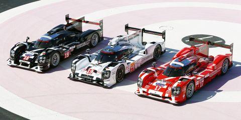 2015 Porsche 919 Hybrid Le Mans cars