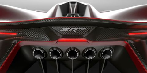 SRT Tomahawk Vision Gran Turismo is coming to your PS3