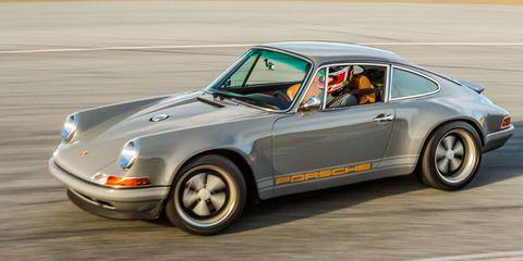 Flat Sex: Porsche 911 Reimagined by Singer