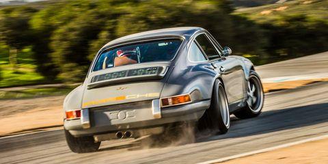 Mazda Raceway Laguna Seca >> Exclusive Test: Porsche 911 Reimagined by Singer