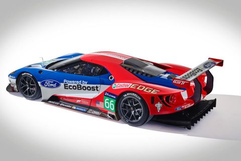 Ford Gt Lm Gte Pro Race Car
