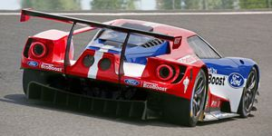 Ford Gt Lm Gte Pro Race Car Official Photo Gallery
