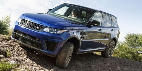 2015 Range Rover Sport SVR - Official Photo Gallery