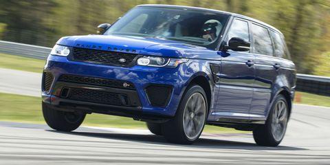 First Drive: 2015 Range Rover Sport SVR
