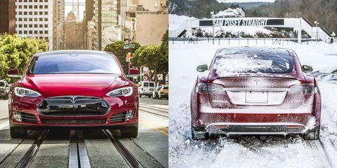 Climate Change: 2014 Tesla Model S P85D