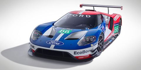This Is The Ford Gt That Will Race At Le Mans In