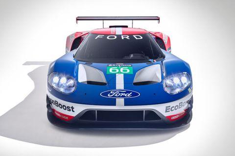 Ford Gt Lm Gte Pro Race Car