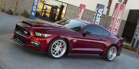 Meet the new 750+ hp Shelby American Super Snake
