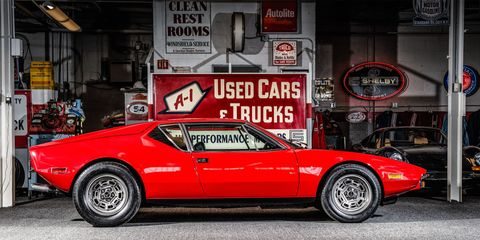 How to buy a De Tomaso Pantera and make it perfect