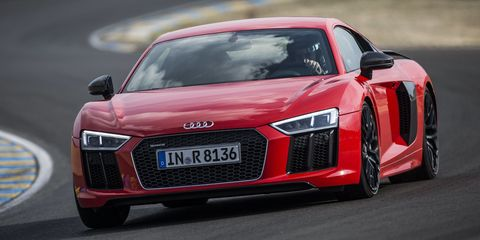 Driving the all-new Audi R8 at Le Mans