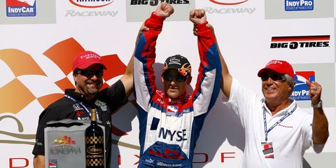 There's good reason why we started our list with the Andrettis. Not only are these Italian-American racing legends alphabetically first, they are perhaps the most famous racing family in the world. The paterfamilias, Mario, took the Formula 1 Championship in 1978, won his class in the 1995 Le Mans, and won the 1969 Indy 500. Mario's son, Michael, followed his father to F1 but shined brightest on the CART IndyCar World Series, where he took the 1991 title. And the lineage continues: Michael's son, Marco, is a budding star in the IndyCar Series.
