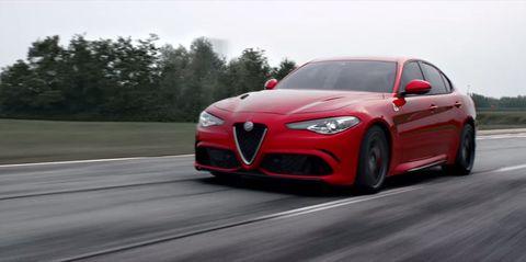 You need to hear the Alfa Romeo Giulia's 510-hp scream