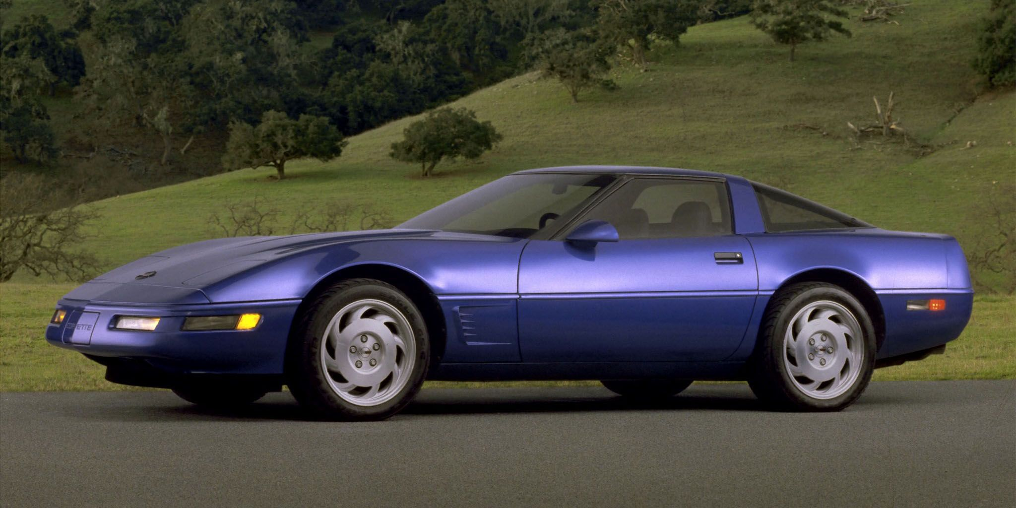 Is the 1991 Corvette more 80s than any other car?