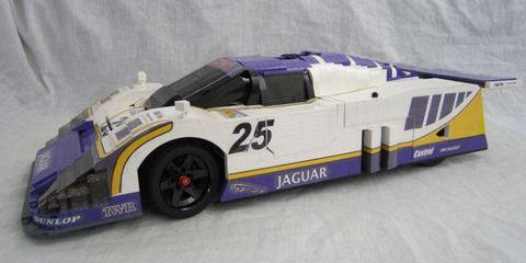Jaguar XJR-9 Lego