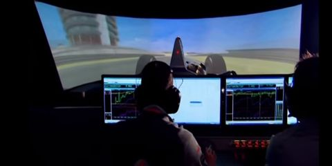 McLaren's Incredible Formula 1 Simulator as Demonstrated by Fernando Alonso