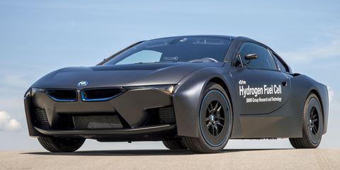 BMW's Hydrogen Future is Embodied by This Sinister i8 Prototype