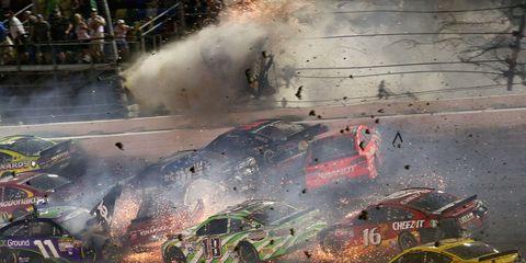 Austin Dillon Crash Daytona