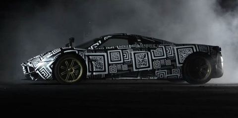 Is This Pagani's Hardcore Huayra?