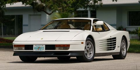 Ferrari Testarossa From Miami Vice Is For Sale