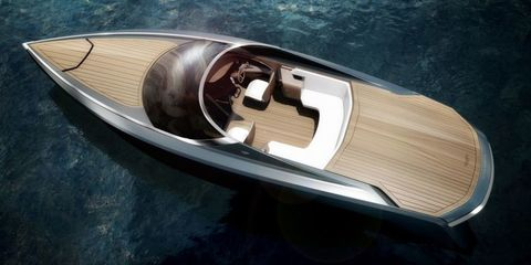 This Aston Martin Powerboat Would be Perfect for James Bond