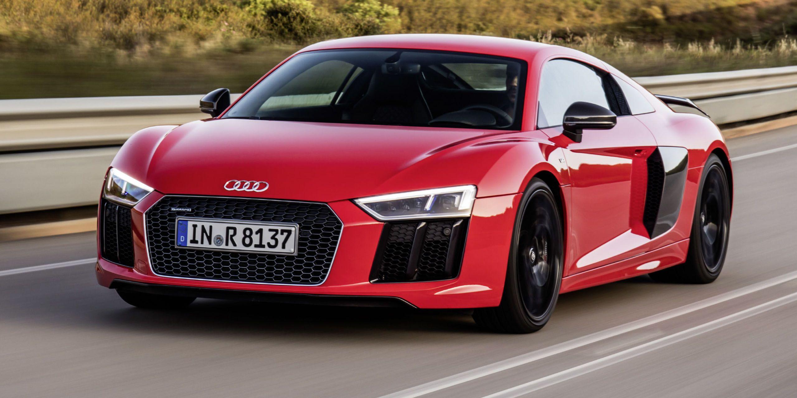 Audi r8 2016 v10 plus
