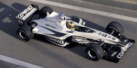 Ralf Schumacher, BMW Williams FW22, 2001