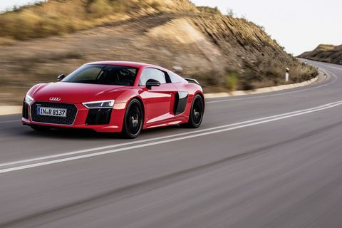 2016 Audi R8 V10 and V10 Plus - Photo Gallery
