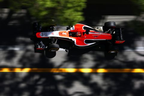 Jules Bianchi Marussia Monaco 2014