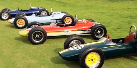 miniature f1 car